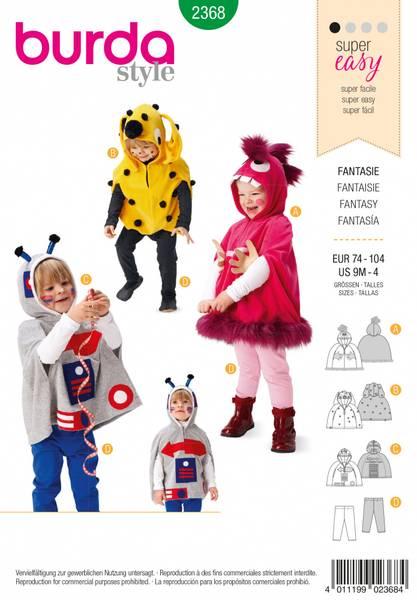 Bilde av 2368 - Burda - kostymer, fantasidyr