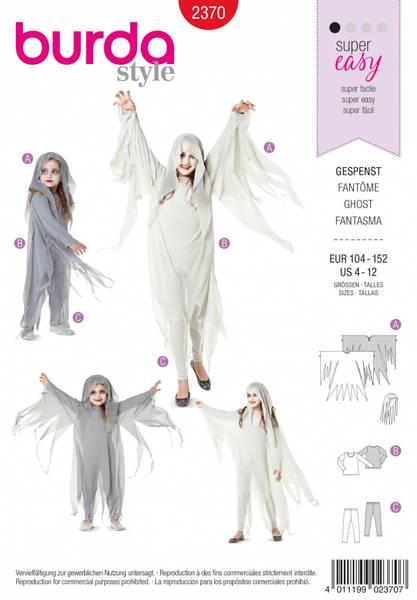 Bilde av 2370 - Burda - kostymer, spøkelse