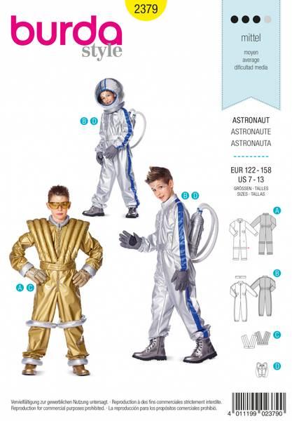 Bilde av 2379 - Burda - kostymer, astronaut