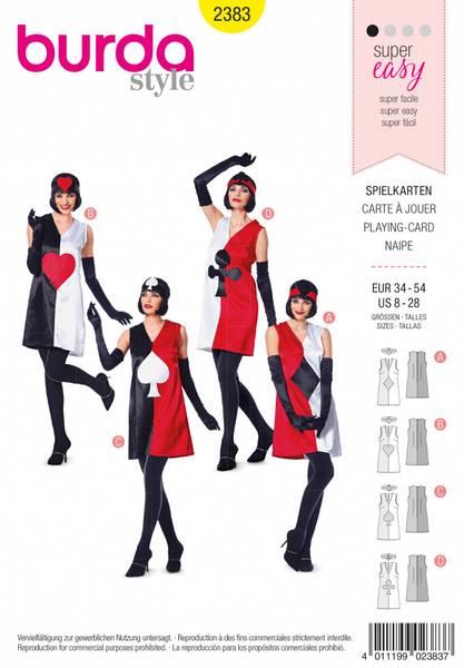 Bilde av 2383 - Burda - kostymer, kortstokk