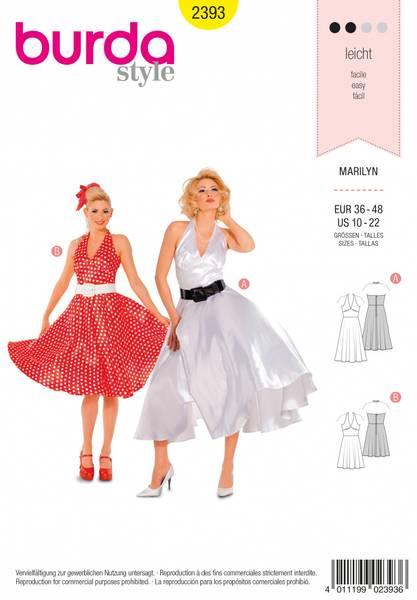 Bilde av 2393 - Burda - kostymer, Marilyn
