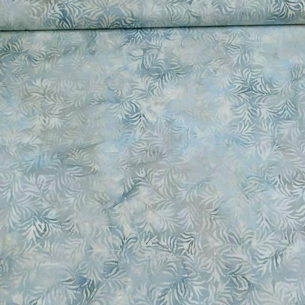 Bilde av Seashell - lys gråblå m 5 cm blader