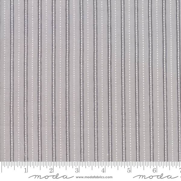 Bilde av Merry Merry Snow Days - 1 cm stripemønster på grå