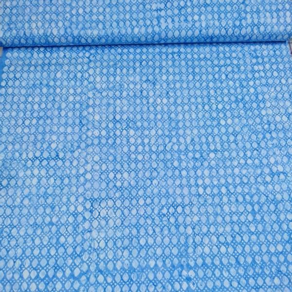 Bilde av Seashell - blå m 1 cm lysblå prikker