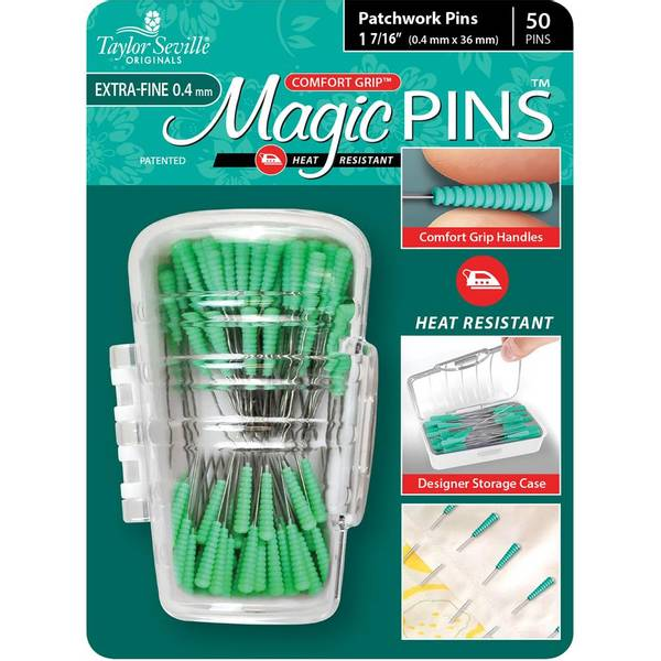 Bilde av Magic Pins, mint - knappenåler, 3,6 cm lang, 50 st