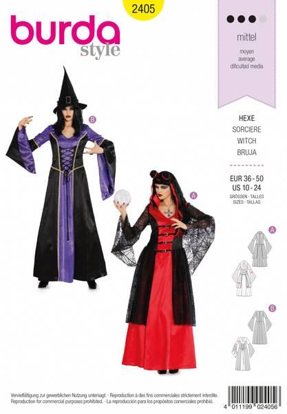 Bilde av 2405 - Burda - kostymer, heks