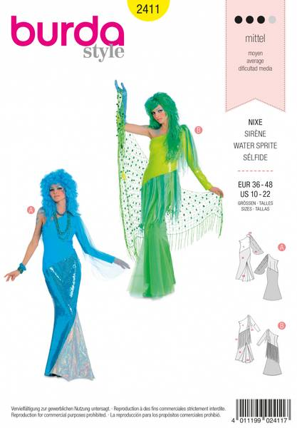 Bilde av 2411 - Burda - kostymer, karneval