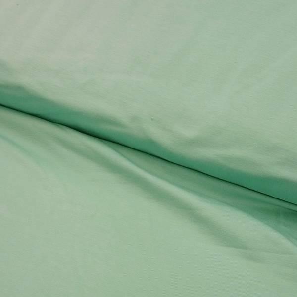 Bilde av Mintgrønn bomullsjersey