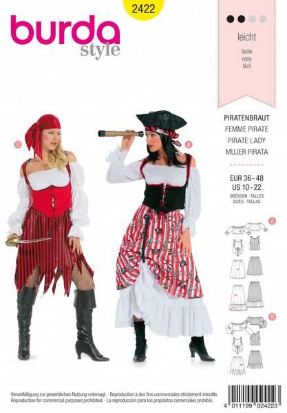 Bilde av 2422 - Burda - kostymer, pirat