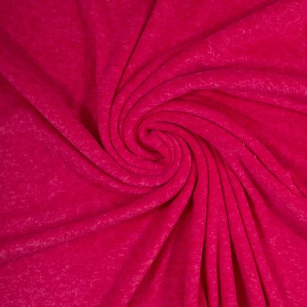 Bilde av Ekstra myk fleece - melert, sterk rosa