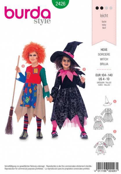 Bilde av 2426 - Burda - kostymer, heks