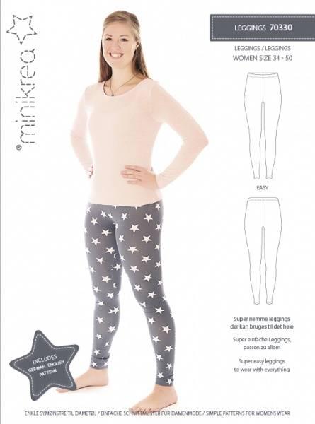 Bilde av Minikrea 70330 - leggings/ tights dame, 34-50