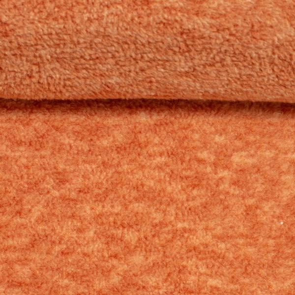 Bilde av Ekstra myk fleece - melert, brent oransje