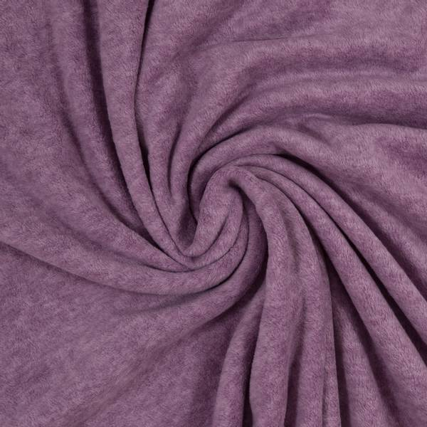 Bilde av Ekstra myk fleece - melert, lilla
