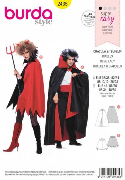 Bilde av 2435 - Burda - kostymer, djevel & vampyr