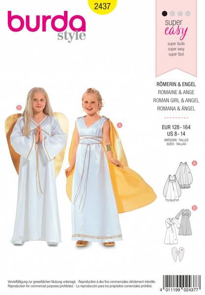 Bilde av 2437 - Burda - kostymer, engel