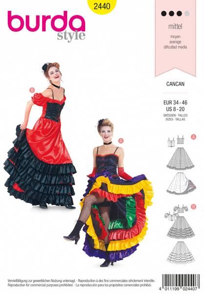 Bilde av 2440 - Burda - kostymer, karneval