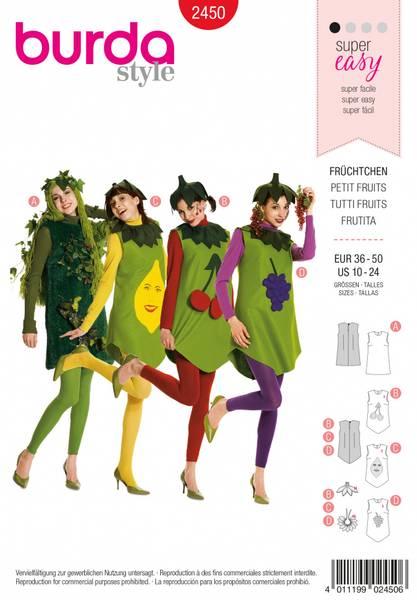 Bilde av 2450 - Burda - kostymer, tutti frutti