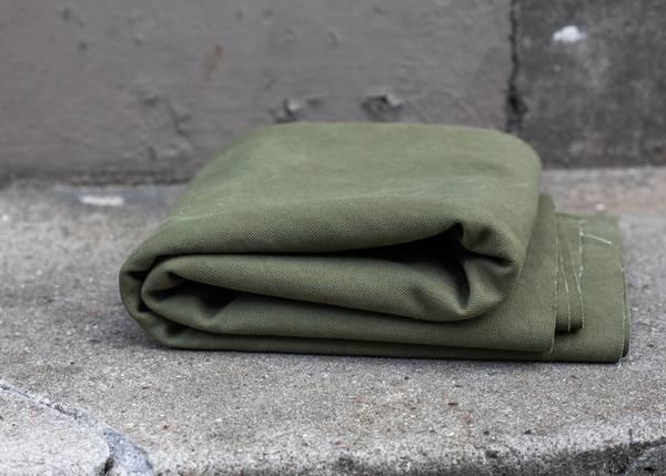 Bilde av 1,1 m Heavy Washed Canvas - Pine - Kanvas militærgrønn
