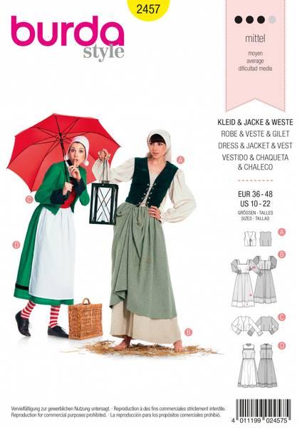 Bilde av 2457 - Burda - kostymer, karneval