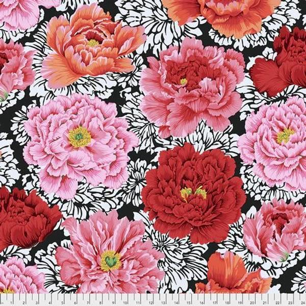 Bilde av Kaffe Fassett Collective - 25 cm roser på sort