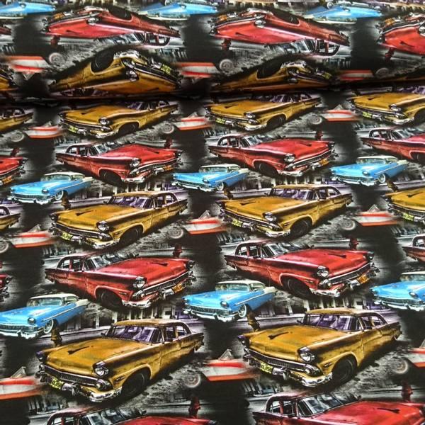 Bilde av 1,1 m Bomullsjersey - 8-13 cm klassiske biler