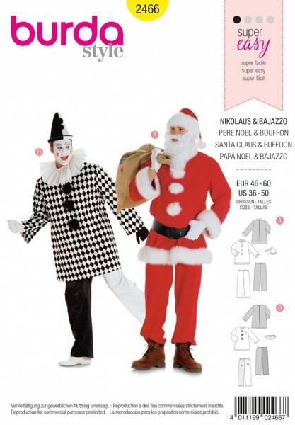 Bilde av 2466 - Burda - kostymer, nisse