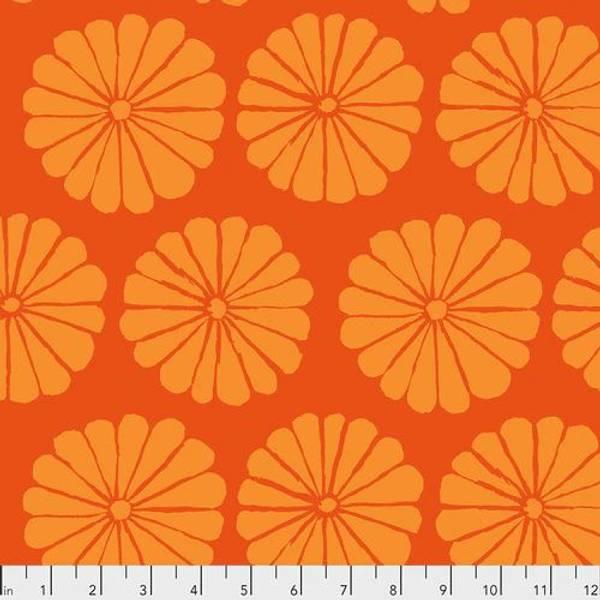 Bilde av Kaffe Fassett Collective - 10 cm blomst, oransje