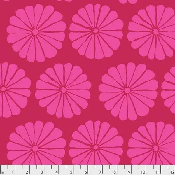 Bilde av Kaffe Fassett Collective - 10 cm blomst, sterk rosa