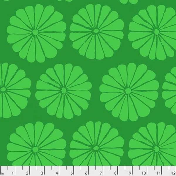 Bilde av Kaffe Fassett Collective - 10 cm blomst, grønn