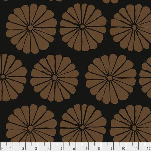 Bilde av Kaffe Fassett Collective - 10 cm blomst, brun