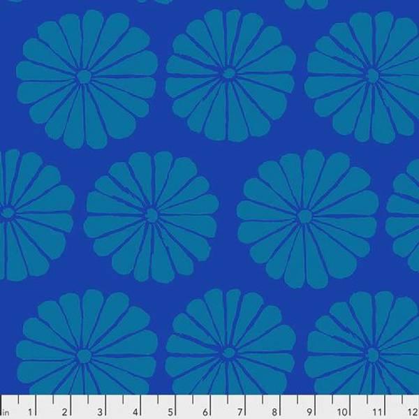 Bilde av Kaffe Fassett Collective - 10 cm blomst, blå