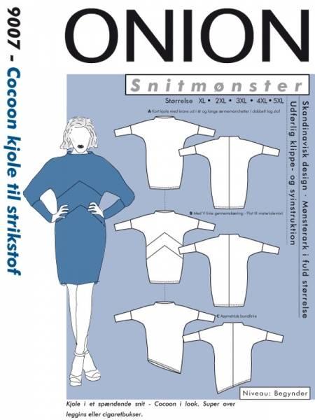Bilde av Onion 9007 - coccon-kjole til stretch, pluss-størrelse