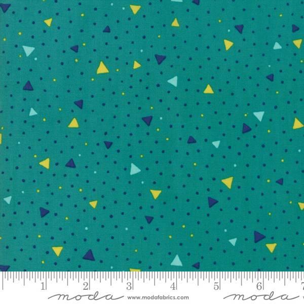 Bilde av 40 cm Basic Mixologie 2 - 5 mm trekanter på sjøgrønn