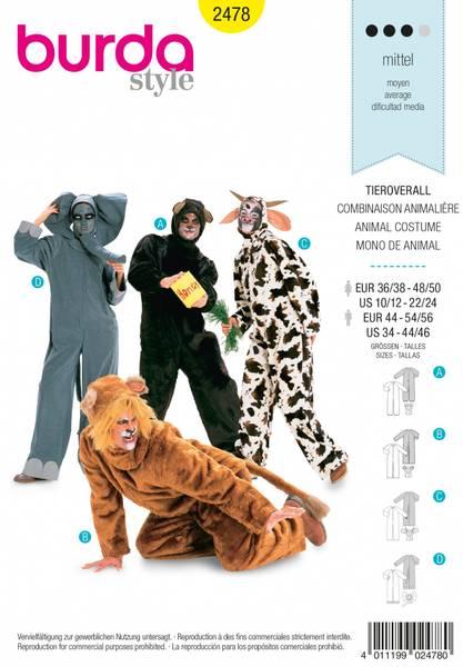 Bilde av 2478 - Burda - kostymer, dyr