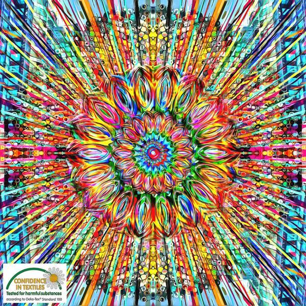 Bilde av City Around - fargerik panel av Peter Parling