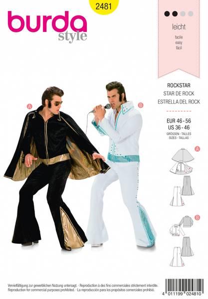 Bilde av 2481 - Burda - kostymer, elvis