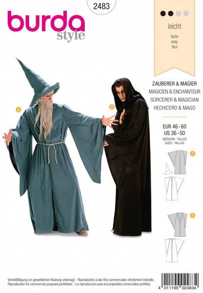 Bilde av 2483 - Burda - kostymer, trollmann