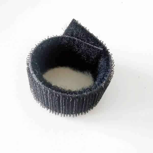 Bilde av Borrelås - 2-i-1, sort, hook&loop i en, 50 cm , sort