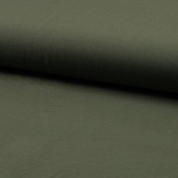 Bilde av Viskose twill ensfarget kakigrønn
