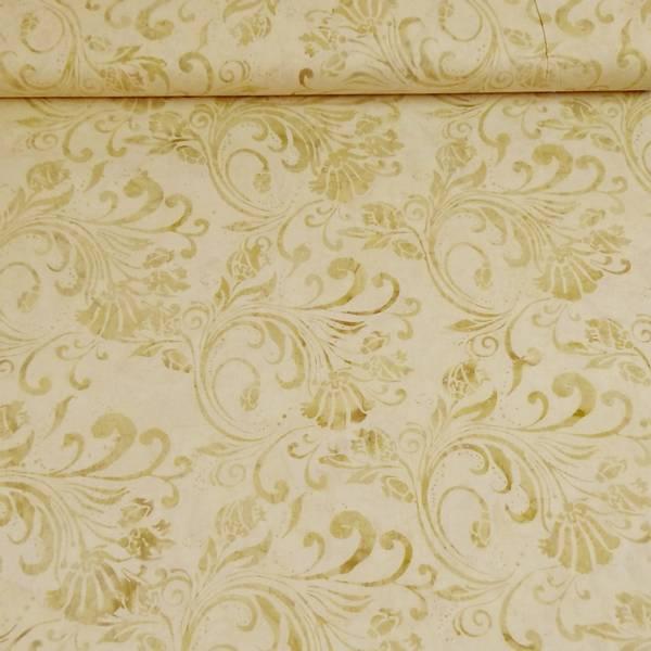 Bilde av Batikk - vanilje-beige stor mønstret