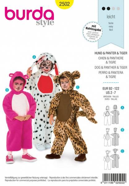 Bilde av 2502 - Burda - kostyme, dyr