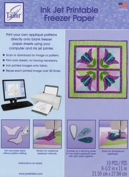 Bilde av June Tailor InkJet printable freezer paper