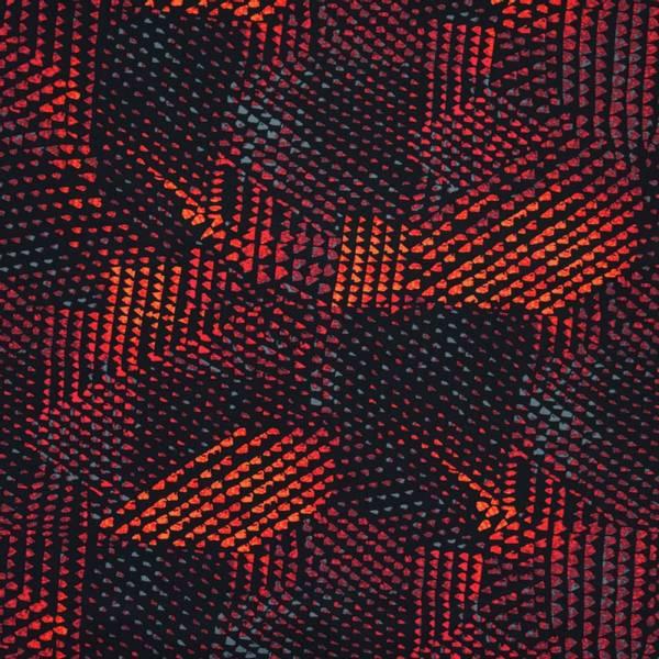 Bilde av Sport & Bad - lycra, rød-sort grafisk mønster
