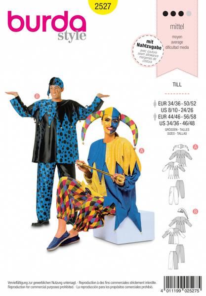 Bilde av 2527 - Burda - kostyme, karneval
