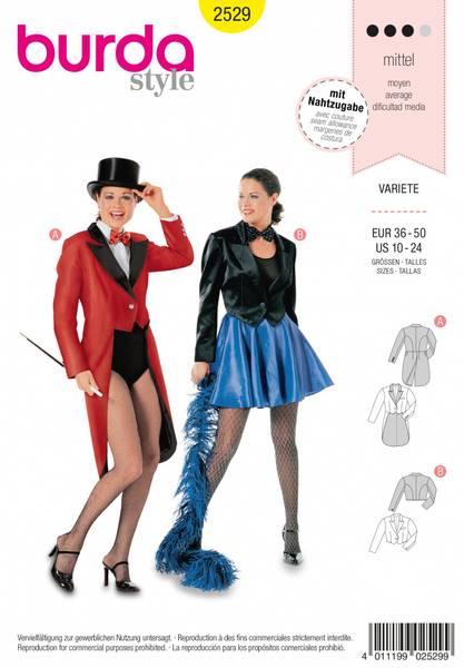 Bilde av 2529 - Burda - kostyme, variette