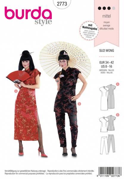 Bilde av 2773 - Burda - kostyme, suzi wong
