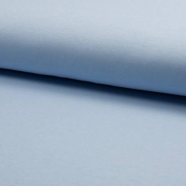 Bilde av Interlock jersey m Lanolin finish - lysblå