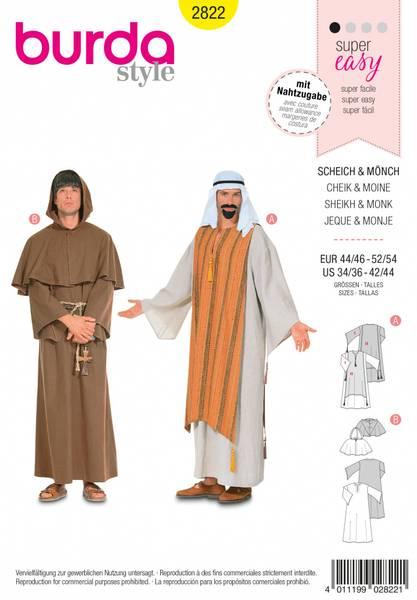 Bilde av 2822 - Burda - kostyme, karneval