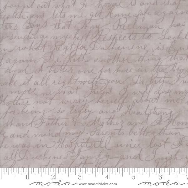 Bilde av Poetry Prints - beigebrun 1 cm engelsk skrift